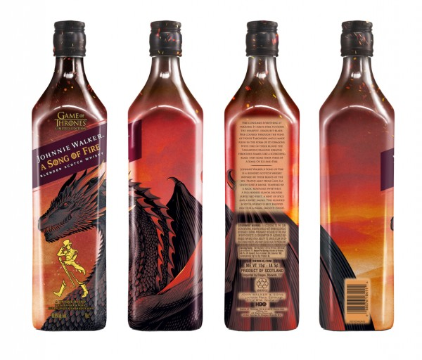 Johnnie Walker A Song of Fire Whisky Limited Edition