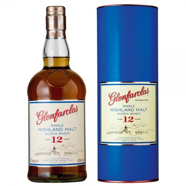 Glenfarclas Highland Single Malt Scotch Whiskey 12 Jahre
