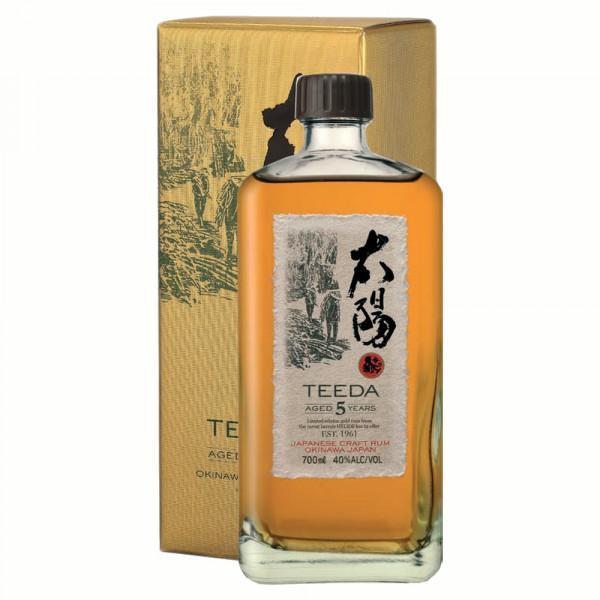 Teeda 5 Jahre Japanese Craft Rum