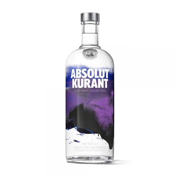 Absolut Vodka Kurant 1,0l