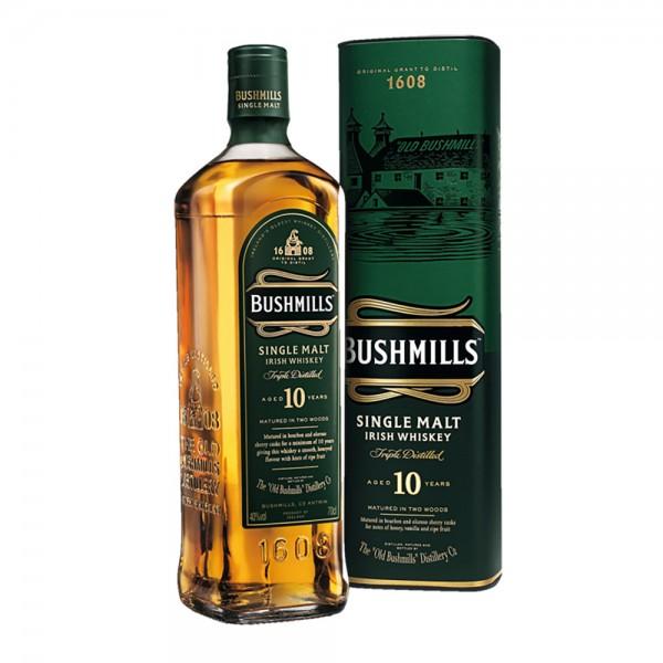 Bushmills Malt 10 Years Old Irish Whiskey