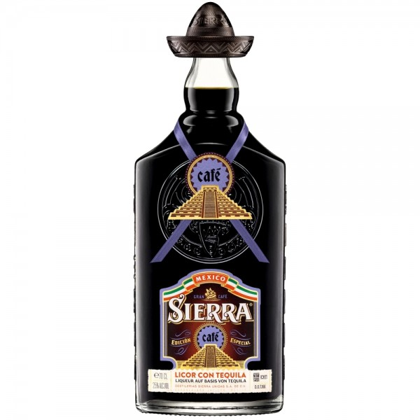 Sierra Cafe Licor con Tequila
