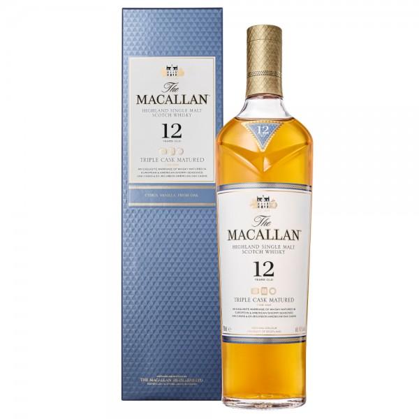 The Macallan 12 Jahre Triple Cask Fine Oak Single Malt Whisky
