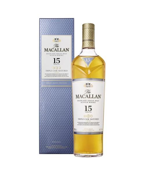 The Macallan 15 Jahre Triple Cask Matured Single Malt Scotch Whisky