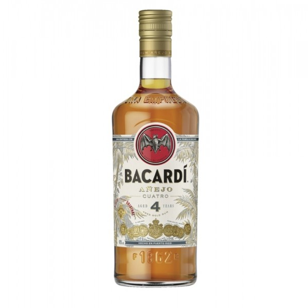 Bacardi Anejo Cuatro 4 Jahre
