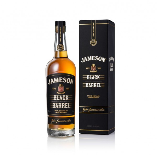 Jameson Black Barrel Triple Distilled Irish Whiskey