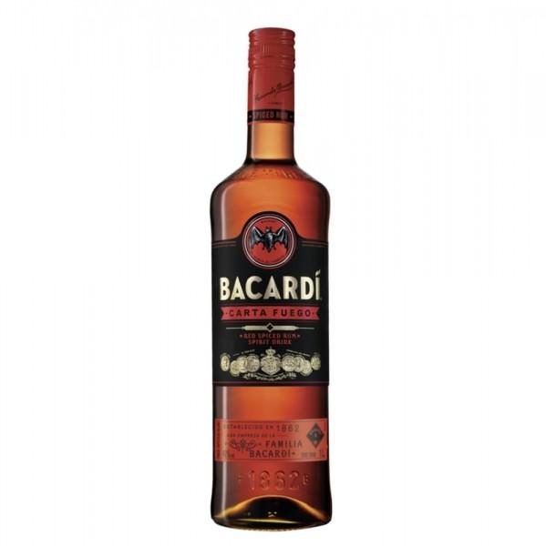 Bacardi Carta Fuego 1,0l