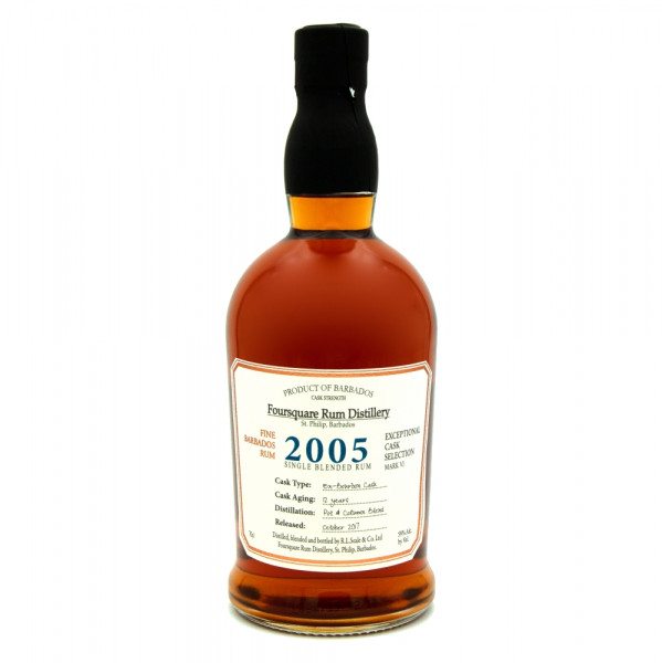 Foursquare 2005 Single Blended Rum