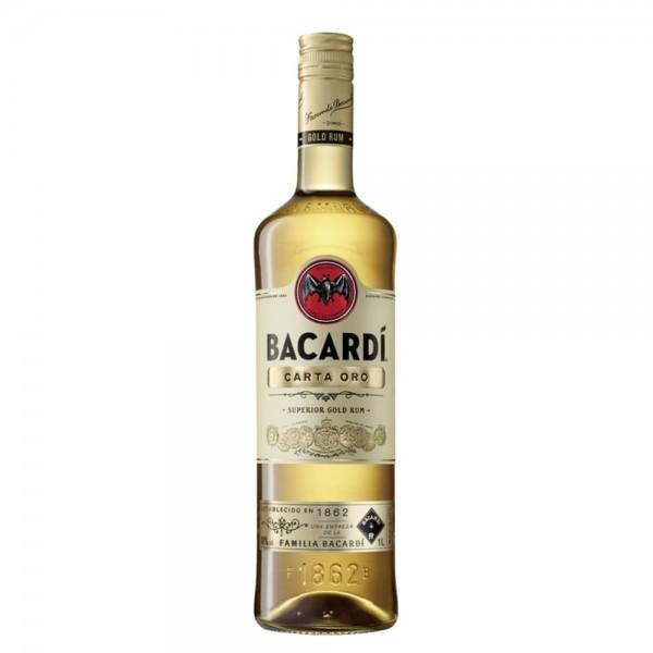 Bacardi Carta Oro 1,0l