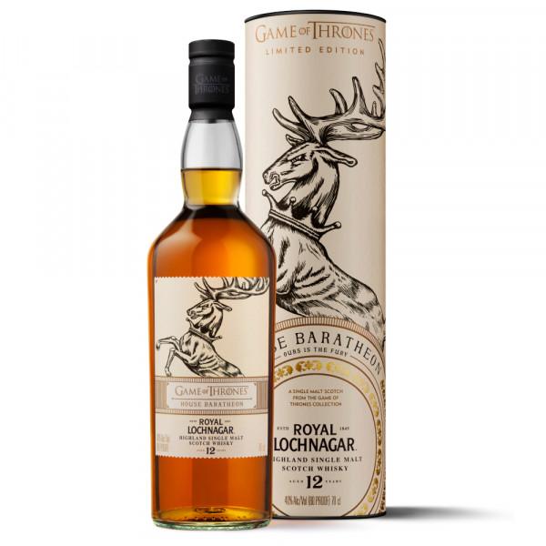 Royal Lochnagar 12 Game of Thrones Limited Edition Highland Scotch Whisky