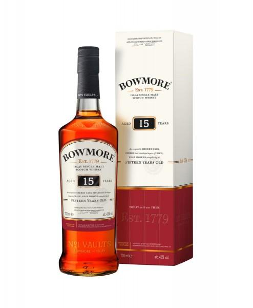 Bowmore 15 Jahre Single Malt Scotch Whisky
