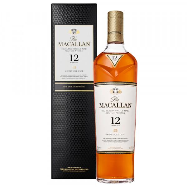 The Macallan 12 Years Sherry Oak Cask Single Malt Whisky