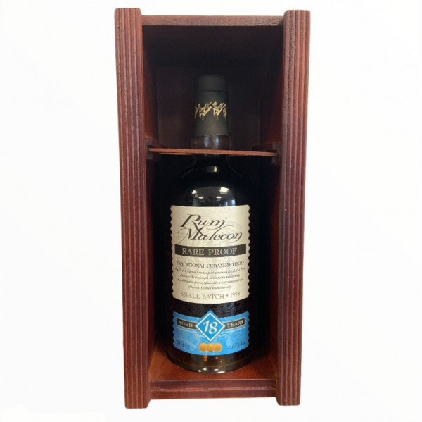 Rum Malecon Rare Proof 18 Jahre
