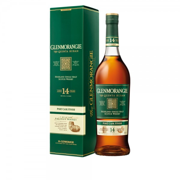 Glenmorangie The Quinta Ruban 14 Jahre Single Malt Scotch Whisky