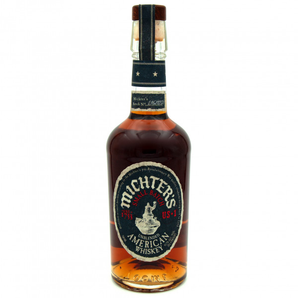 Michter`s Small Batch Unblended American Whiskey