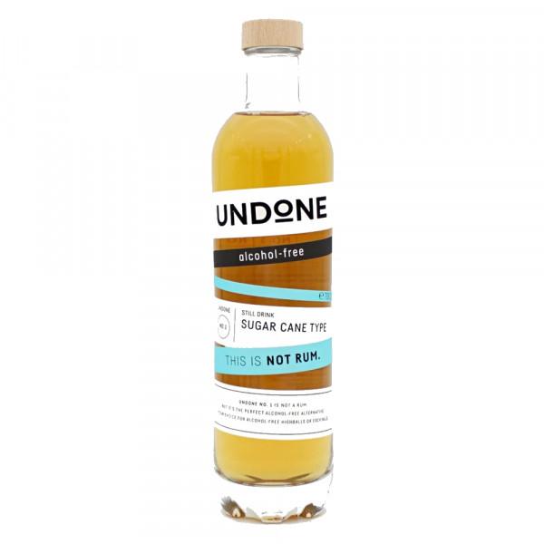 Undone No.1 Sugar Cane Type NOT RUM alkoholfrei