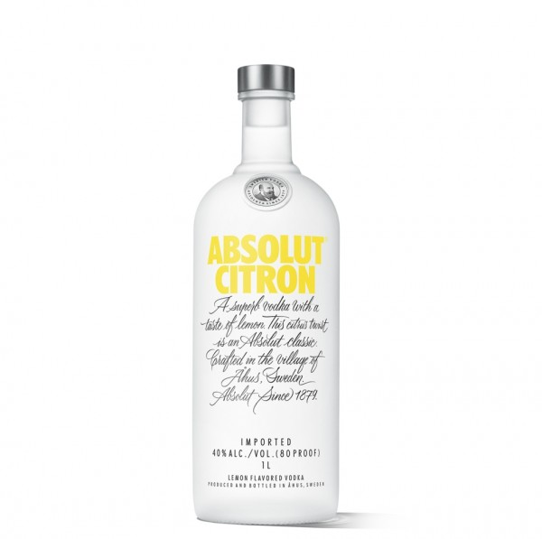 Absolut Vodka Citron 1,0l