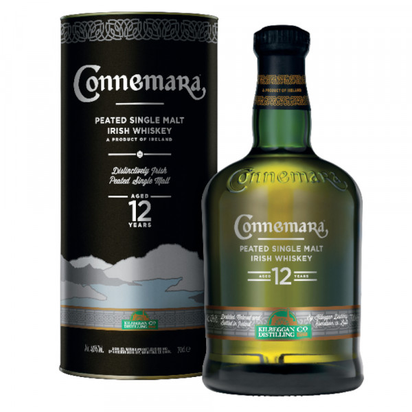 Connemara 12 Years Peated Single Malt Whiskey