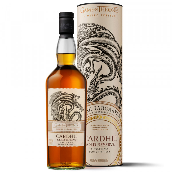 Cardhu Gold Reserve Game of Thrones Limited Edition Single Malt Whisky