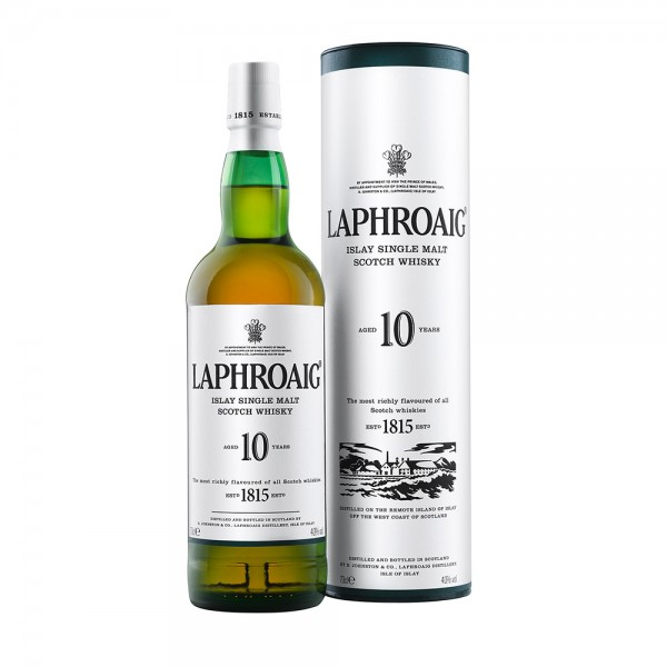 Laphroaig 10 Years Islay Single Malt Whisky