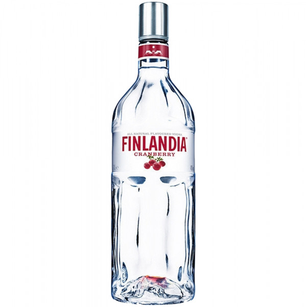 Finlandia Cranberry Flavoured Vodka 1,0l