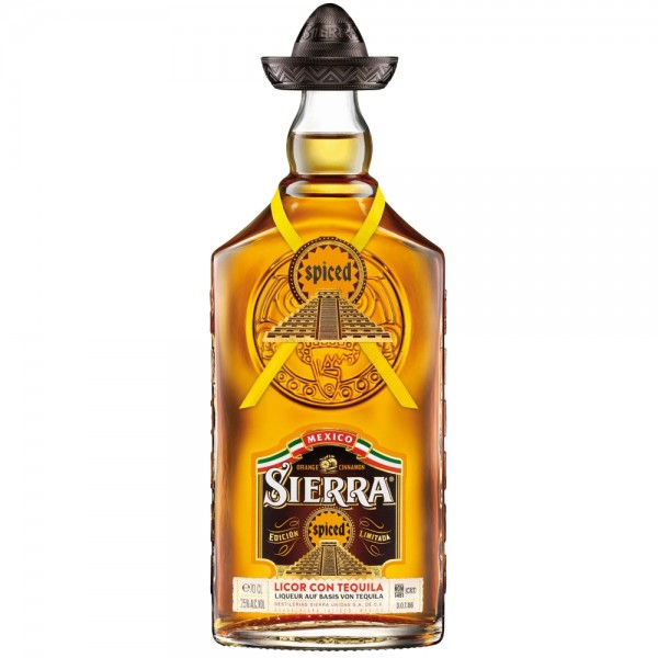 Sierra Spiced Licor con Tequila