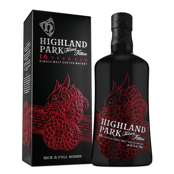 Highland Park Twisted Tattoo 16 Jahre Single Malt Scotch Whisky
