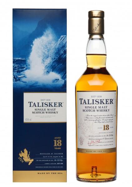 Talisker 18 Years Single Malt Scotch Whisky
