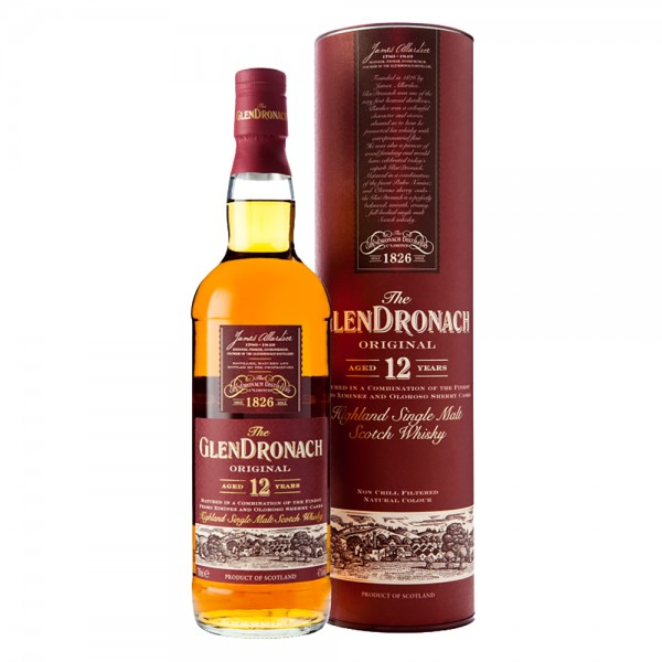 The Glendronach Original 12 Jahre Single Malt Scotch Whiskey