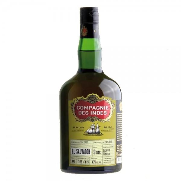 Compagnie des Indes Rum El Salvador 9 Jahre