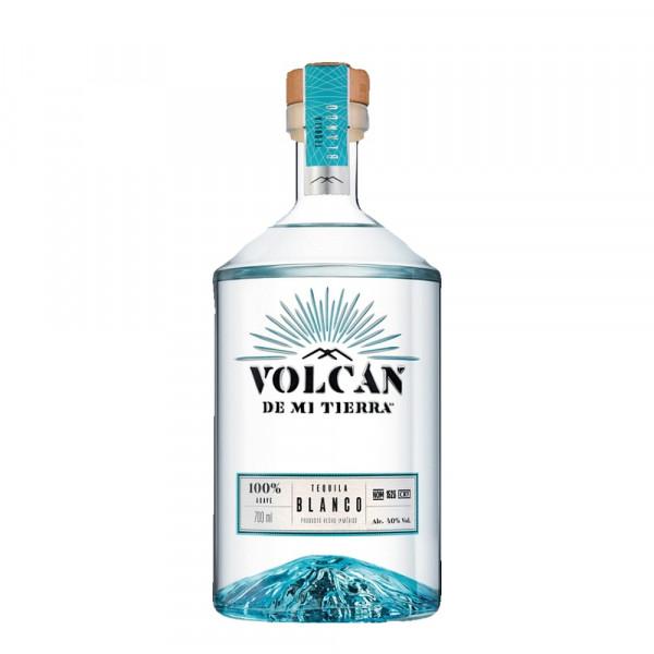 Volcan De Mi Tierra Tequila Blanco 40% 0,7l - Aktion mit Becher