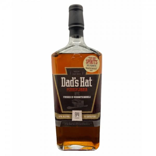 Dad's Hat Pennsylvania Rye Vermouth Barrels Whiskey