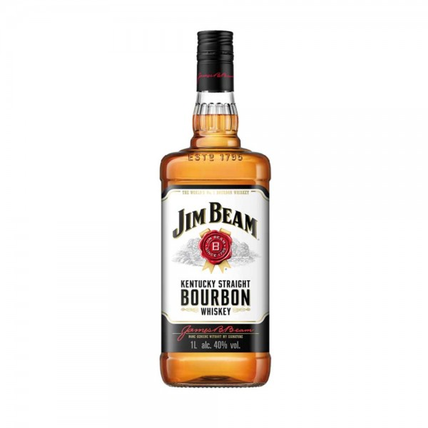 Jim Beam White Bourbon Whiskey