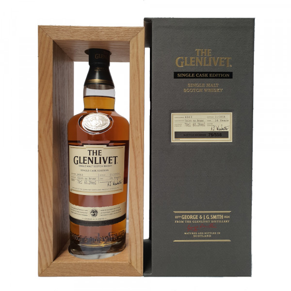 The Glenlivet 16 Single Cask Edition Single Malt Whisky