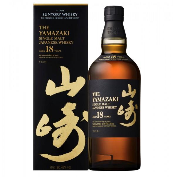 The Yamazaki 18 Jahre Single Malt Japanese Whisky
