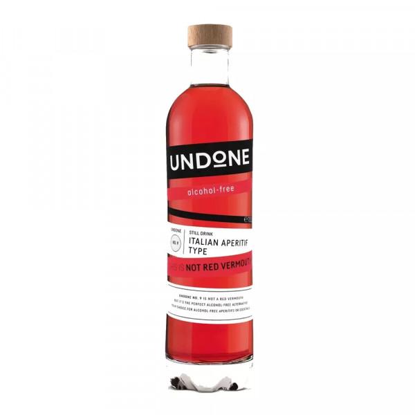Undone No.9 Italian Aperitif Type NOT RED VERMOUTH alkoholfrei
