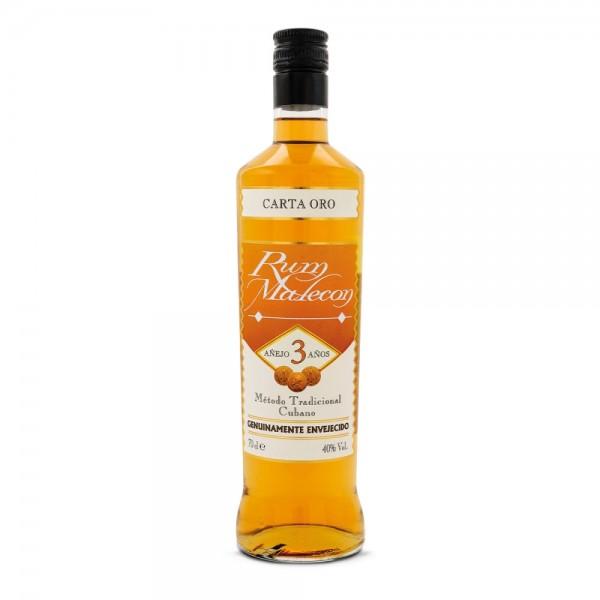 Rum Malecon Carta Oro 3 Jahre 1,0l