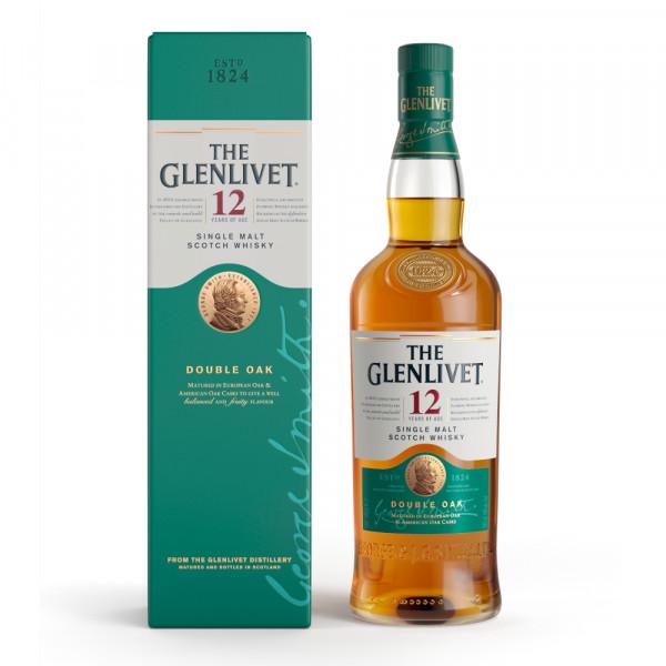 The Glenlivet 12 Double Oak Single Malt Whisky