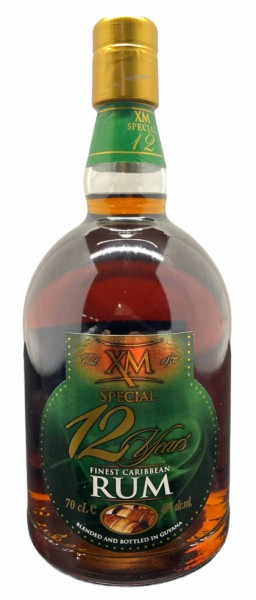 XM SPECIAL 12 Years Finest Caribbean Rum