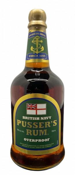 Pusser's Green Label Overproof Rum